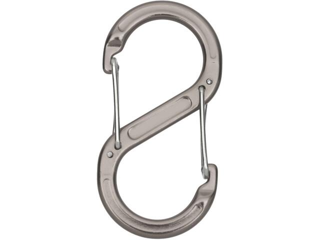 Relags mousqueton S' 2 pièces, grey